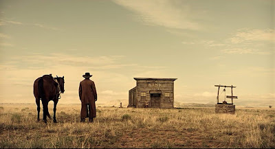 The Ballad of Buster Scruggs 2018 movie still Tim Blake Nelson James Franco Stephen Root