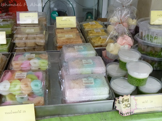 Thai desserts - bread and other sweets