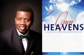 open heavens 23 may 2019
