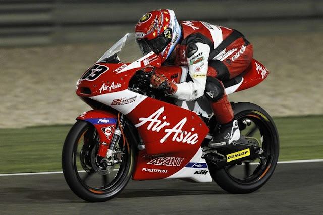 Muhammad Zulfahmi Khairuddin Ke 6 Di Commercialbank Grand Prix of Qatar 2012