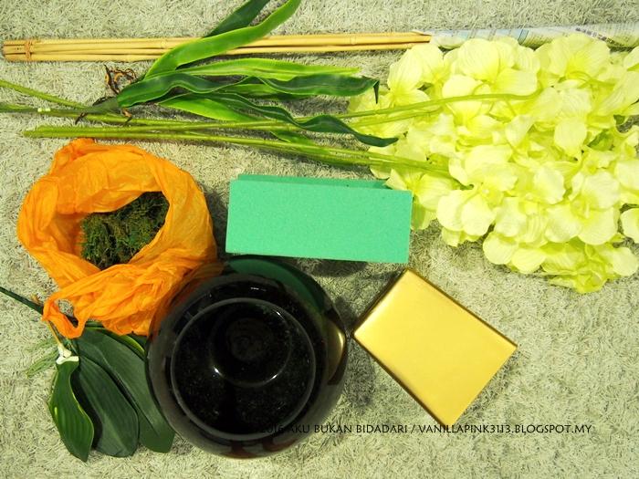 Aku Bukan Bidadari Buatsendiri Gubah Bunga Orkid Simple Tapi Cantik Dengan Kos Minima