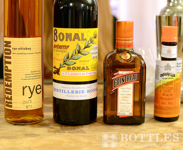 bonal rye whiskey ingredients list how to make