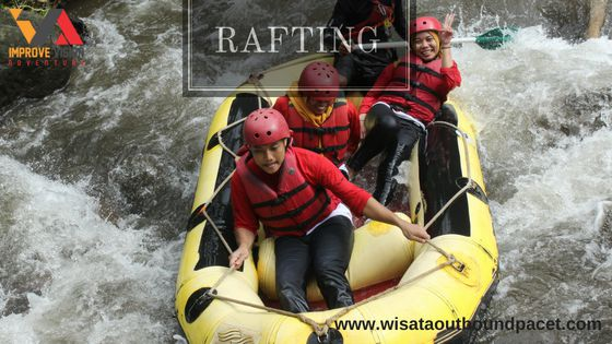 rafting wisata outbound pacet improve vision