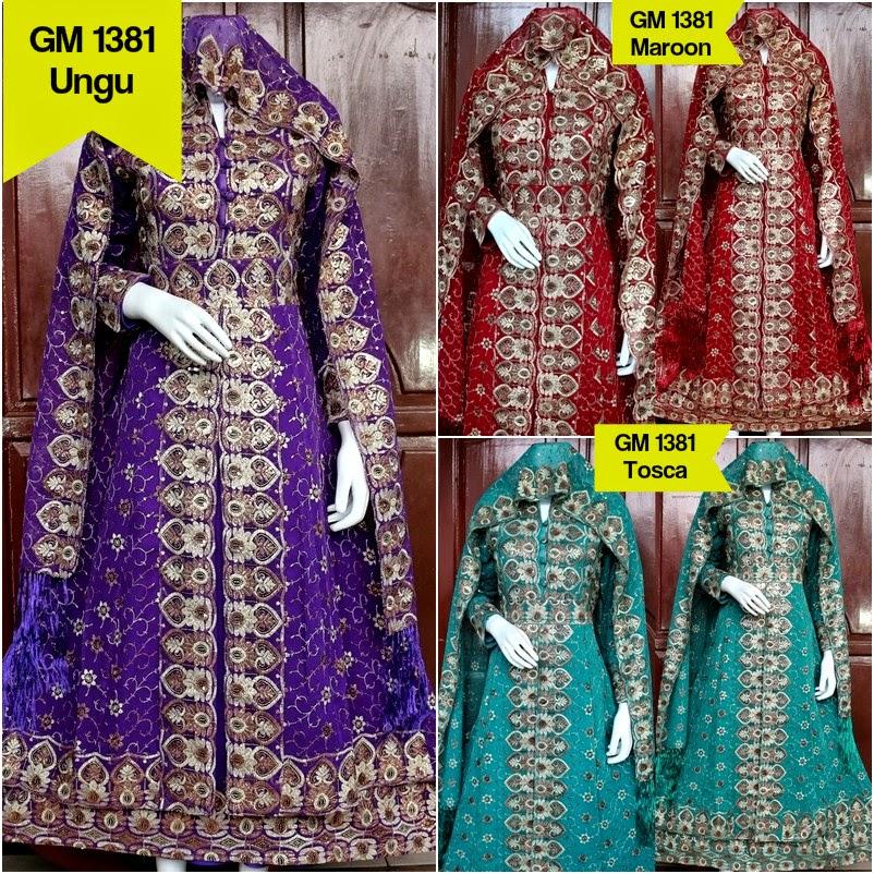 Gamis Jodha Sari India Original Gamis Jodha