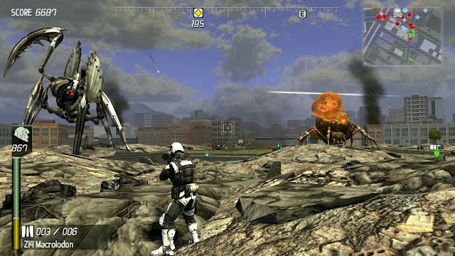 Earth Defense Force Insect Armageddon PC Free Download Screenshot 3