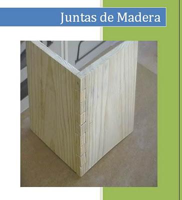 Tipos de juntas de madera (ensambles) | Bricolaje