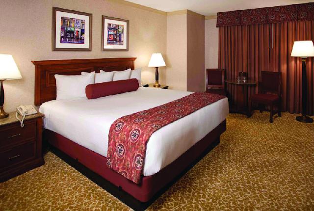 Quartos no Hotel Harrah's em Las Vegas
