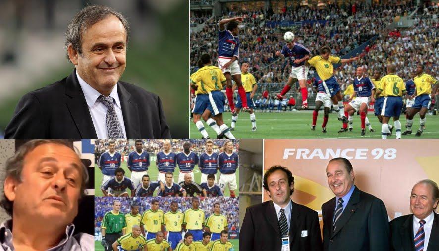 """Incredibile Platini: """"sorteggio truccato al mondiale di calcio Francia '98"""""""