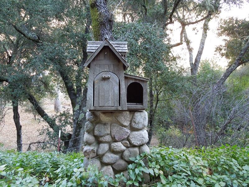 Unique Mailbox on York Mountain Road, Templeton, © B. Radisavljevic