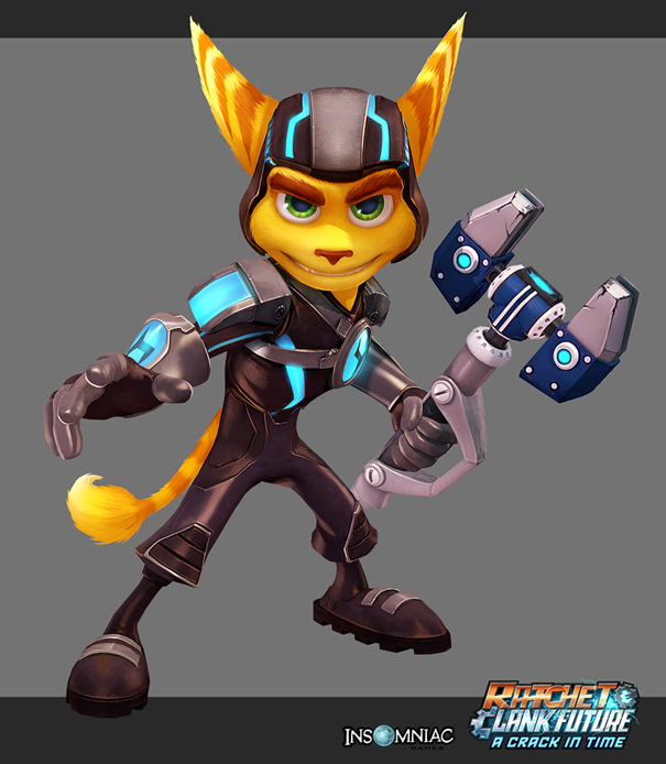 Ricky Zhang Art Ratchet And Clank Future A Crack In Time