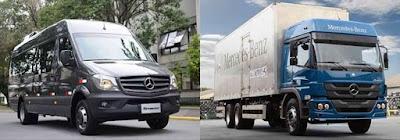 Pesquisa aponta que caminhões Atego e modelos Sprinter têm valor alto de revenda
