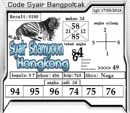 Kode Syair Shamyoun Terbaik Hari Kamis