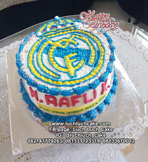 Buttercream Cream Real Madrid Logo