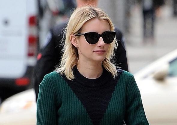 2016-12-21 エマ・ロバーツ(Emma Roberts)ビバリーヒルズにてショッピング