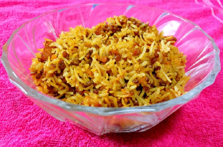 Spiced and Healthy Red Lentil Rice Recipe