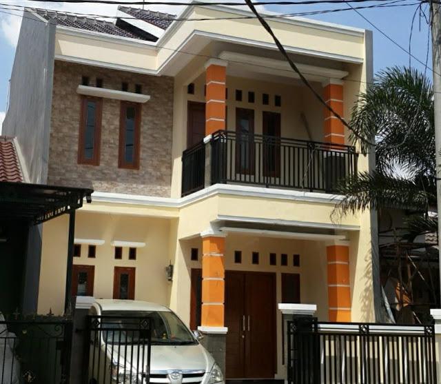 Rumah Minimalis 2 Lantai Dengan Tampilan Modern