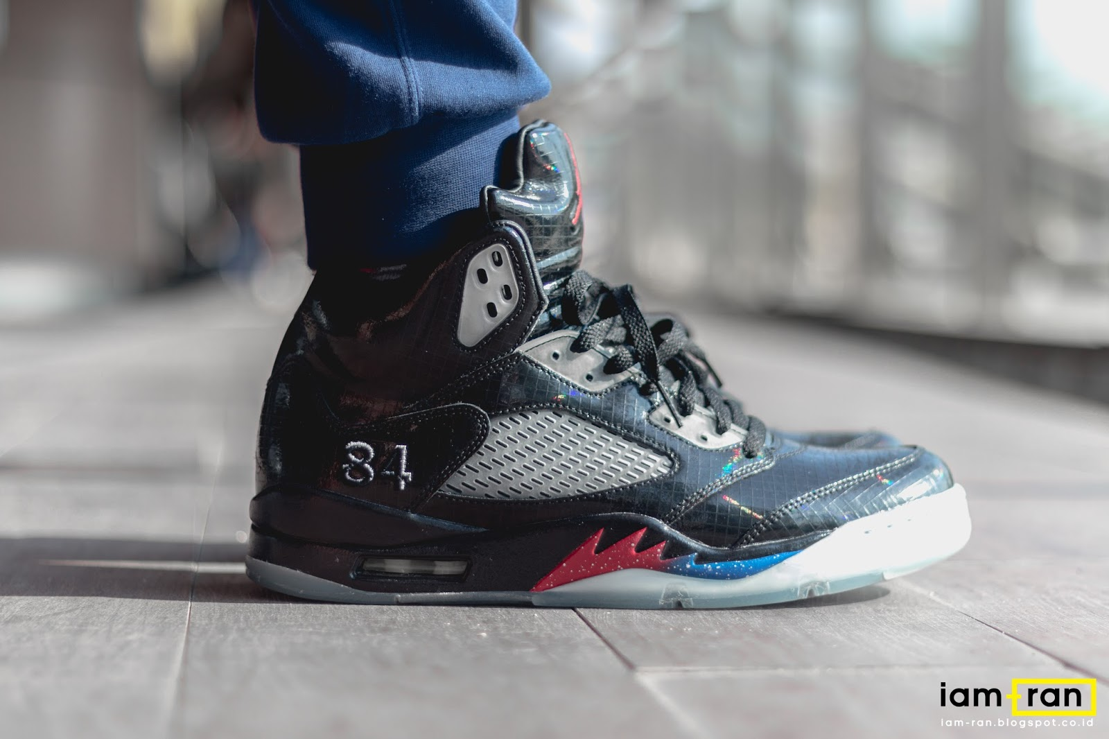 28dfce50080d3d IAM-RAN  ON FEET   Winston - Nike Air Jordan 5 X Mark Wahlberg X ...