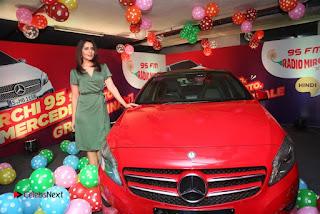 Raashi Khanna at Mirchi 95 Suno Mercedes Jeeto Contest Stills  0040.jpg