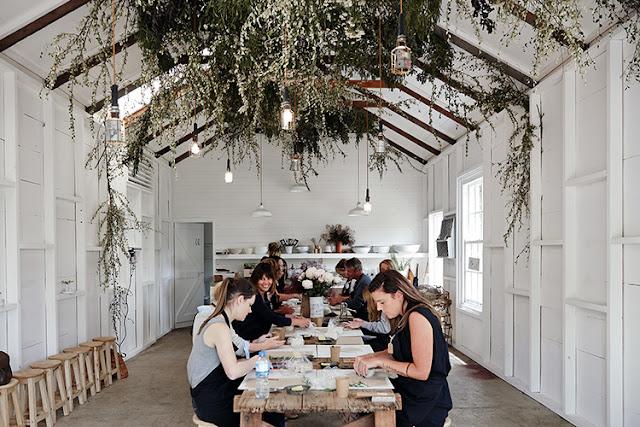 Australie / Ceramic workshop dans une magnifique grange /