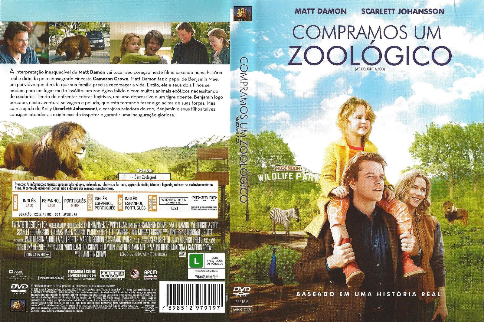 Coisas De Juliana We Bought A Zoo Compramos Um Zoologico