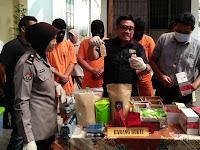 Edarkan Tembakau Gorila Tiga Mahasiswa Dibekuk Polisi