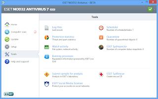 تحميل برنامج الحماية من الفيروسات نود 32 - download eset nod32 antivirus 7.0.317.4