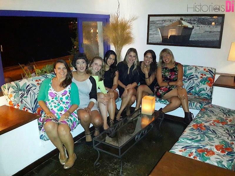Curtindo ótimos momentos com as amigas blogueiras