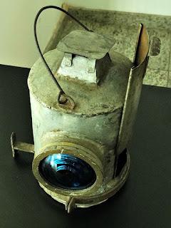Lanterna de Sinalização Ferroviária - Museu Histórico de Canoas (Dr Sezefredo Azambuja)