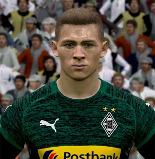 PES 2017 Faces Thorgan Hazard by ABW_FaceEdit