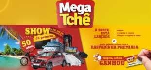 Promoção Mega Tchê 2019 Show de Prêmios Raspadinha Premiada - Raspou Achou Ganhou