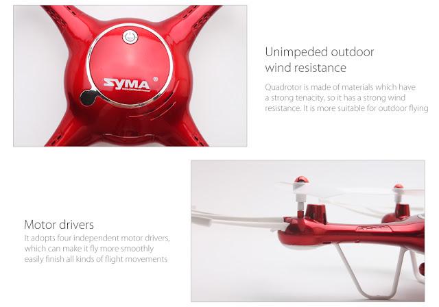 Syma X5UW Quadcopter