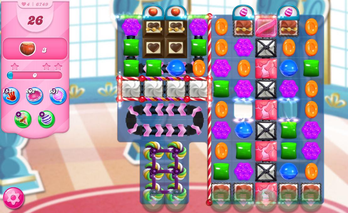 Candy Crush Saga level 6749