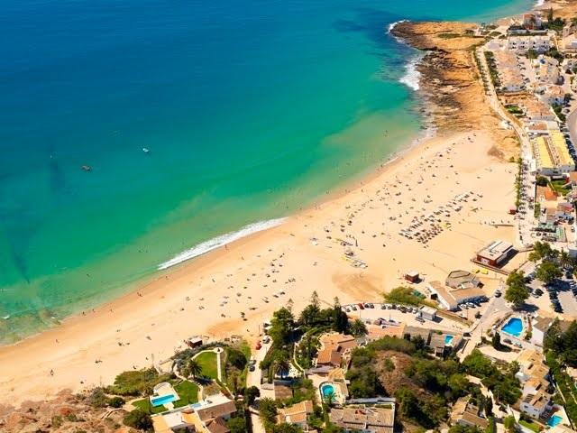Praia da Luz no Algarve