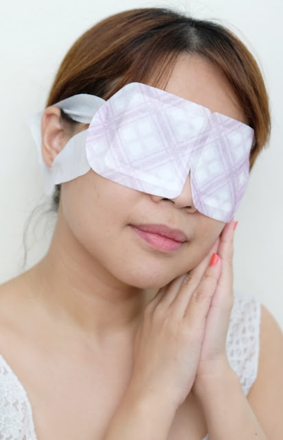 a photo of MegRhythm Steam Eye Mask review