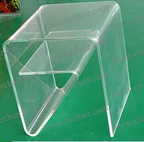 Acrylik sofa siight table