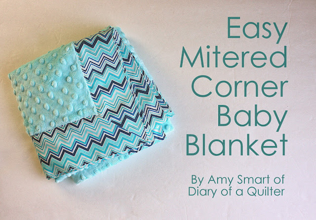 Baby Blanket Tutorial With Cuddle Fabric Diary Of A