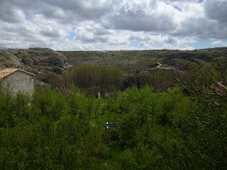 Desfiladero del Talegones desde Torrevicente
