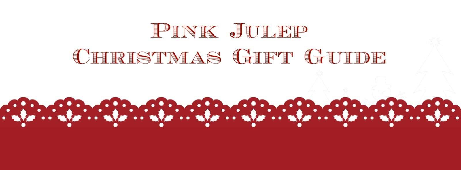 Pink Julep Christmas Gift Guide Graphic