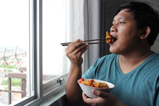 salmanbiroe - Indonesian Lifestyle Blogger - Bahasa Pedas So Good Chicken Strip