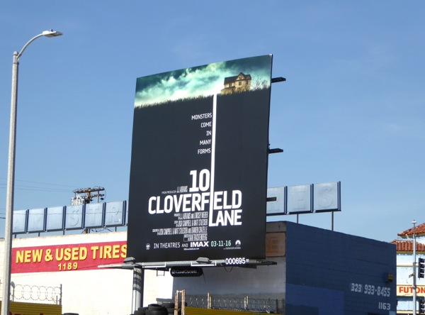 10 Cloverfield Lane film billboard