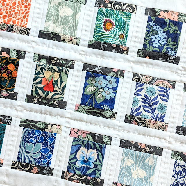 Liberty Spool Party Block Tutorial by Heidi Staples for Fabric Mutt