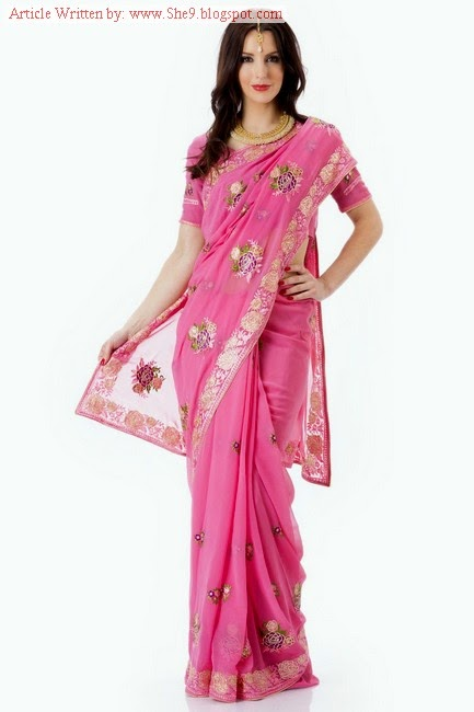 Royal Evening Party Saree Fashion