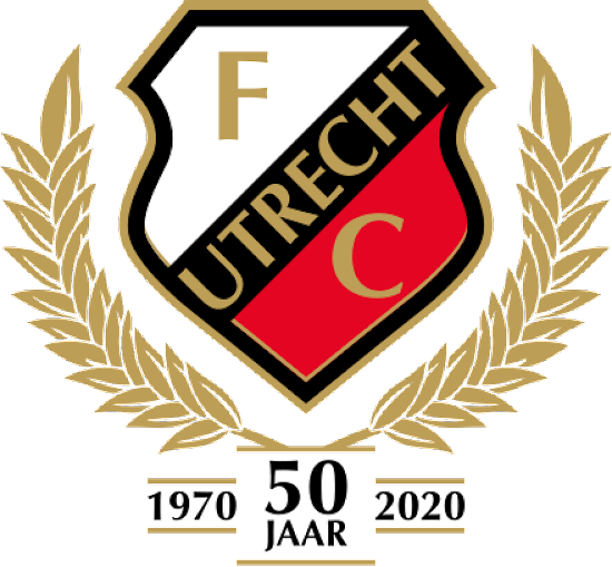 No Diagonal Design Fc Utrecht 20 21 50 Years Anniversary Home Kit Logo Released Footy Headlines