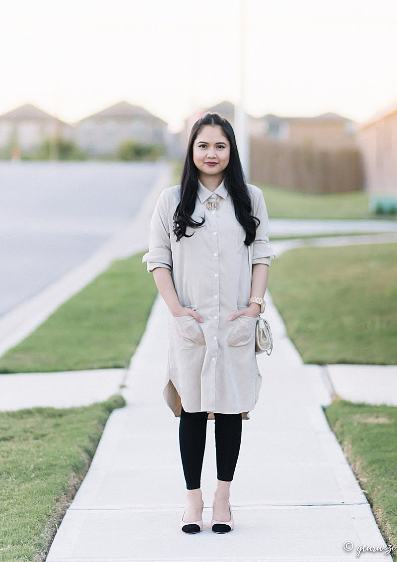 051cbe0c5 Zaful Long Shirt Dress x Blog Review | Petite Fashion