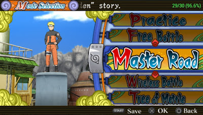 Game Naruto Ultimate Ninja Heroes 3 CSO