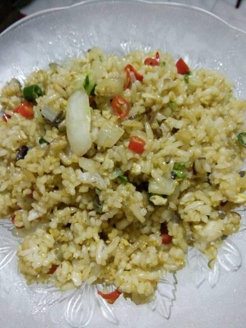 Resep oseng nasi sawi putih ala rumah makan ciwidey