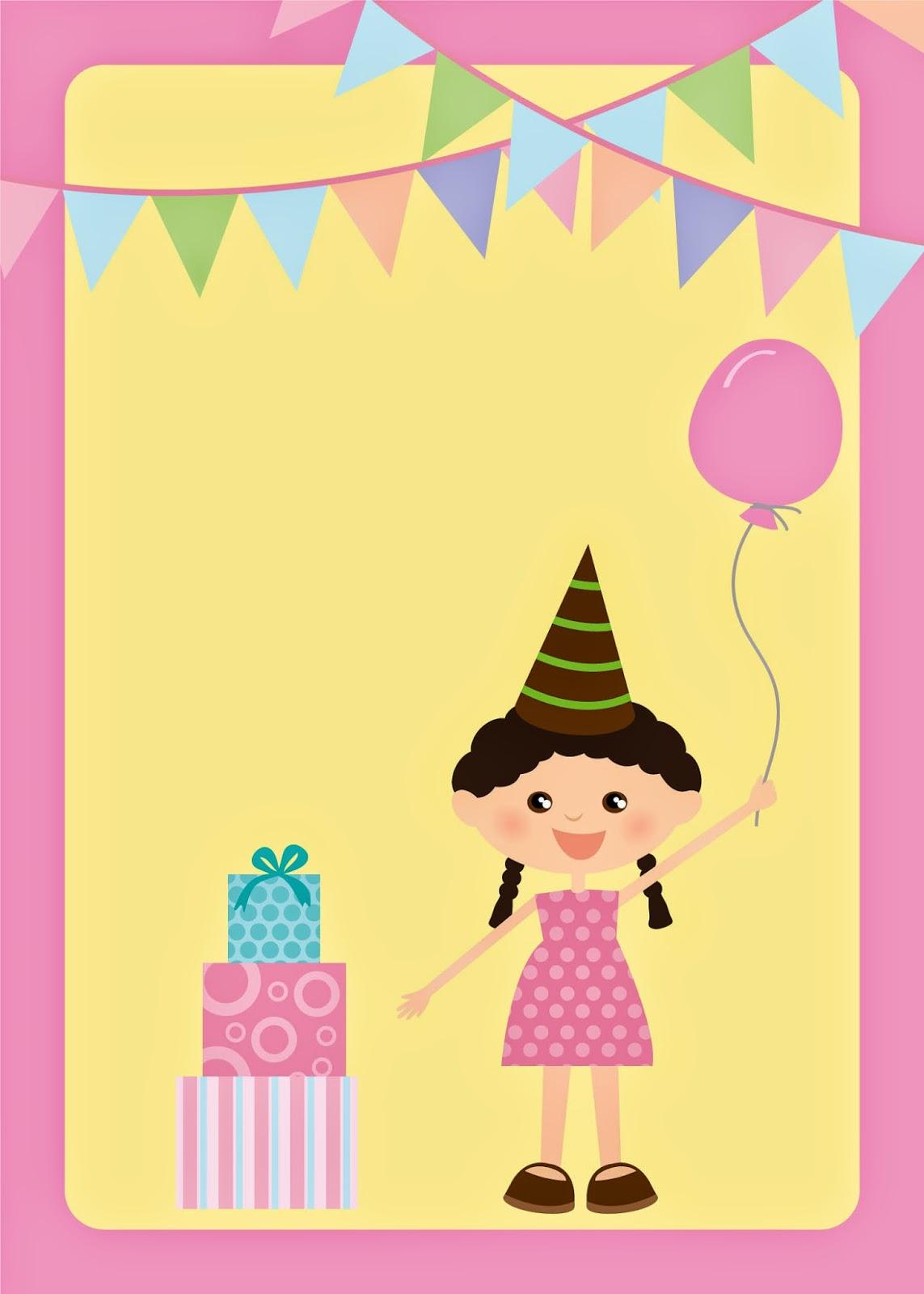 Invitaciones Para Fiesta De Cumpleaños De Niños Para