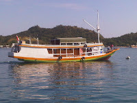Local Wooden Boat - Komodo Island