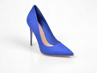 Pantofi ALDO albastri, Cassedy, din piele intoarsa