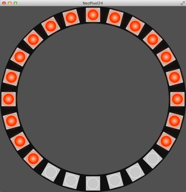 Harmonic Code: NeoPixel24 Ring